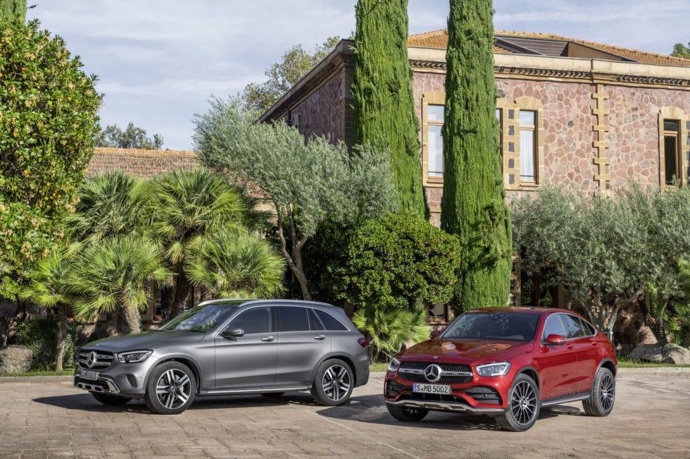 Mercedes-Benz GLC SUV und Coupe