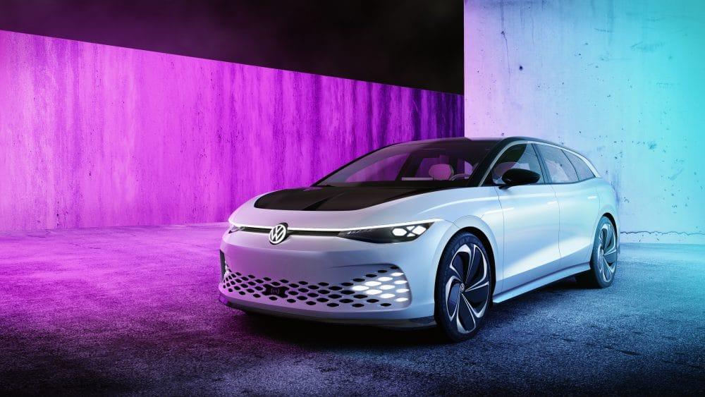 Volkswagen Showcar ID. SPACE VIZZION | Copyright Volkswagen