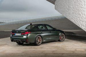 BMW Goldbronzene Akzente