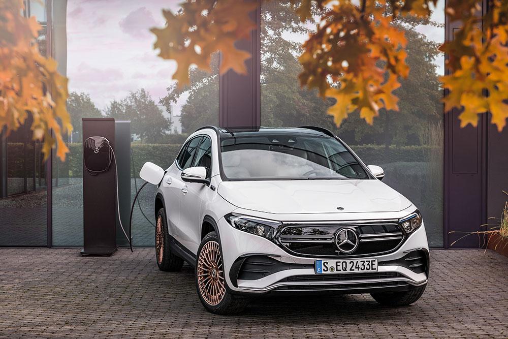 Mercedes-Benz E-Auto laden