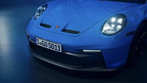 Porsche 911 GT3 Carbon-Fronthaube | Copyright Porsche