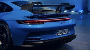 Porsche 911 GT3 Heckflügel | Copyright Porsche