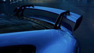 Porsche 911 GT3 Schwanenhals Aufhängungen | Copyright Porsche