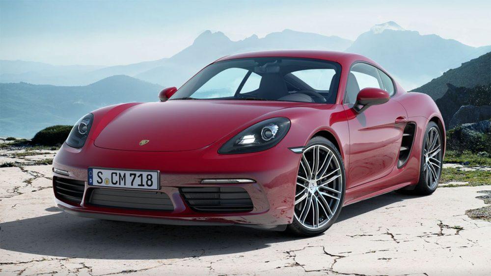 Porsche 718 Cayman Leasing Aktionen