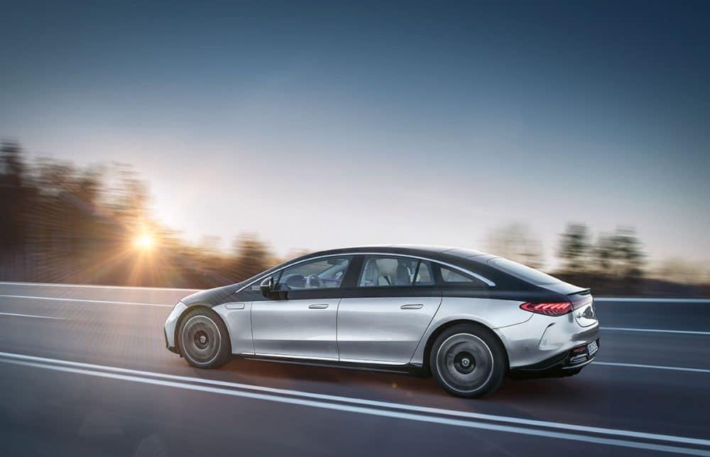 Mercedes EQS One Bow Design